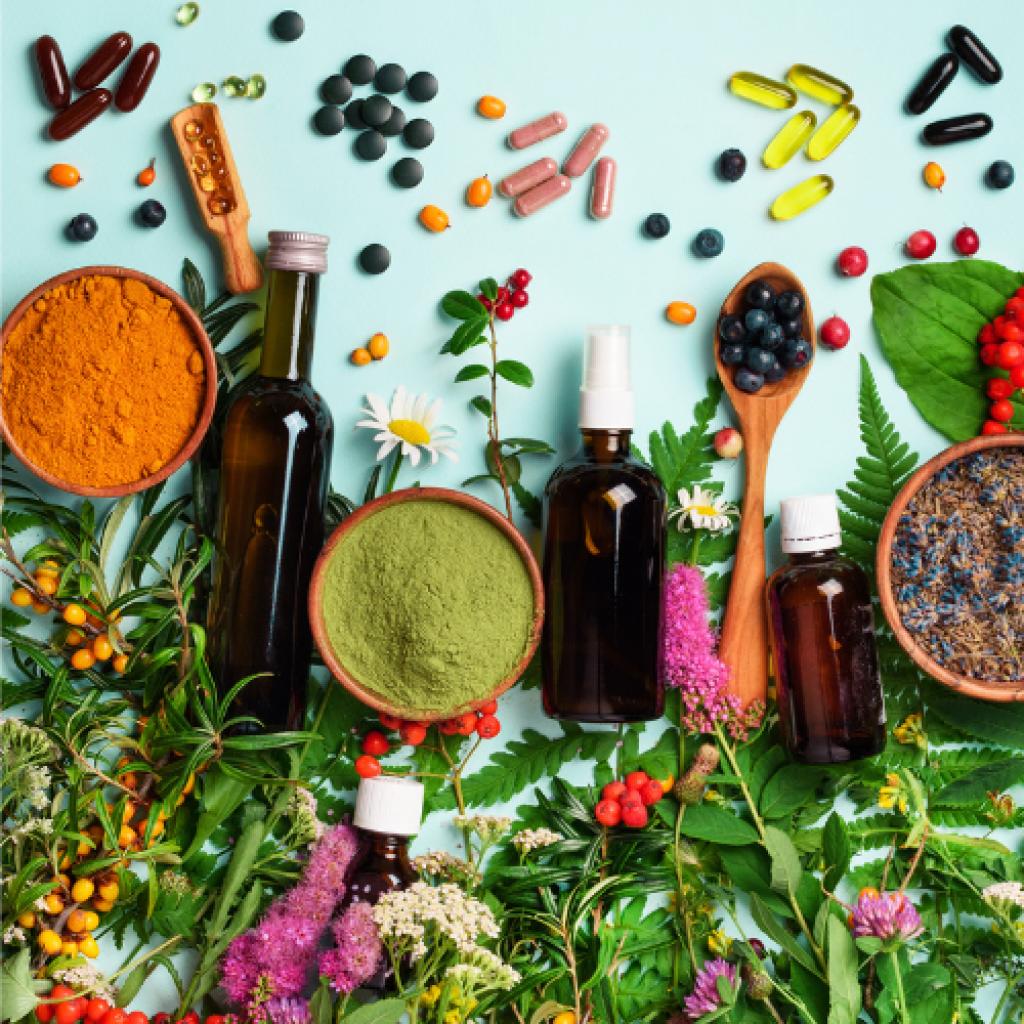 Vitamins, Minerals, Herbals and Supplements